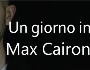 """Una nuova cover per Max Cairone. """"Un giorno in più"""""""